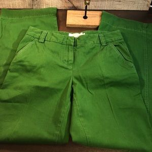 Classic Twill Chino Pants Favorite Fit Green 8R
